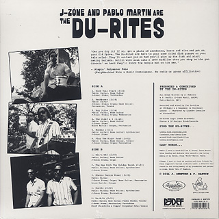 Du-Rites / J-Zone and Pablo Martin Are The Du-Rites back