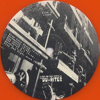 Du-Rites / J-Zone and Pablo Martin Are The Du-Rites label