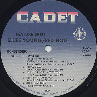Eldee Young, Red Holt / Feature Spot label