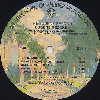 Eugene Record / S.T. label