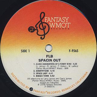 F.L.B. / Spacin' Out label