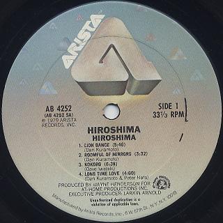 Hiroshima / S.T. label