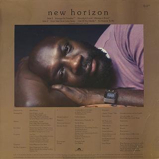 Isaac Hayes / New Horizon back