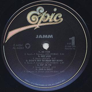 JAMM / S.T. label
