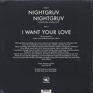 James Mason / Nightgruv back