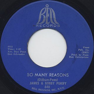 James and Bobby Purify / I'm Your Puppet back