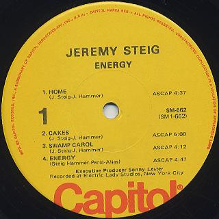 Jeremy Steig / Energy label