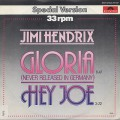 Jimi Hendrix / Gloria c/w Hey Joe