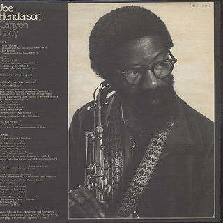 Joe Henderson / Canyon Lady back