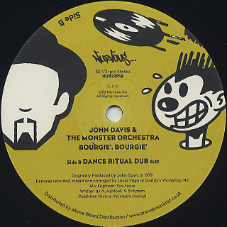 John Davis & The Monster Orchestra / Bourgie Bourgie (Louie Vega Remix) back