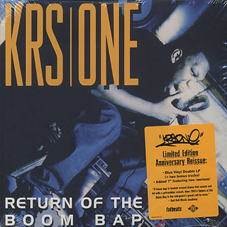 KRS One / Return Of The Boom Bap (2LP+7