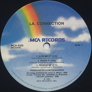 L.A. Connection / S.T. label