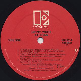 Lenny White / Attitude label