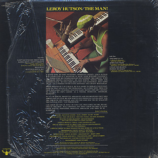 Leroy Hutson / The Man! back