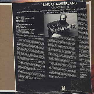 Linc Chamberland / A Place Within back