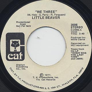 Little Beaver / We Three (45)