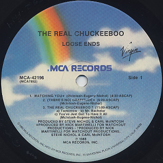Loose Ends / The Real Chuckeeboo label