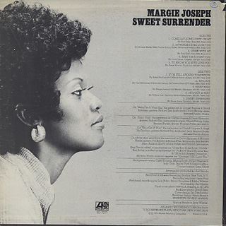 Margie Joseph / Sweet Surrender back