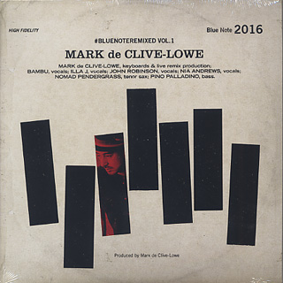 Mark De Clive-Lowe / #Bluenoteremixed Vol 1 back