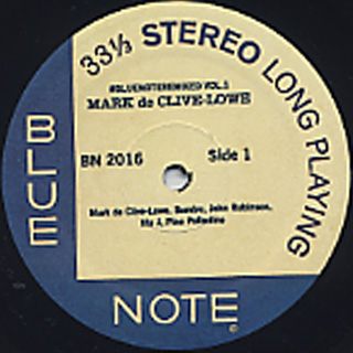 Mark De Clive-Lowe / #Bluenoteremixed Vol 1 label