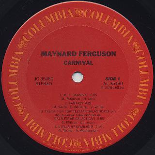 Maynard Ferguson / Carnival label