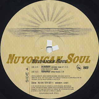 Nuyorican Soul Featuring India / Runaway label