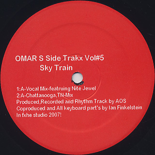 Omar-S / Side Trakx Vol.5