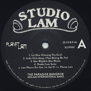 Paradise Bangkok Molam International Band / Planet Lam label
