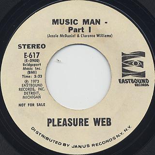 Pleasure Web / Music Man(Part I & II)