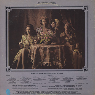 Pointer Sisters / S.T. back