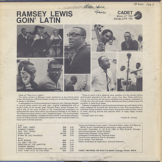 Ramsey Lewis / Goin' Latin back