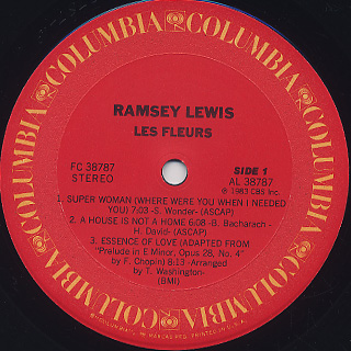 Ramsey Lewis / Les Fleurs label