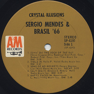 Sergio Mendes & Brasil '66 / Crystal Illusions label
