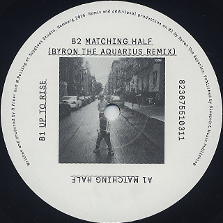 Session Victim / Matching Half EP label