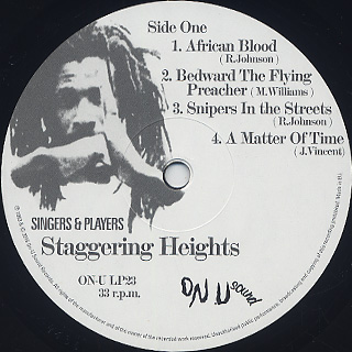 Singers & Players / Staggering Heights label