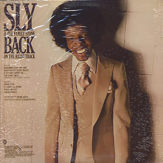 Sly and The Family Stone / Back On The Right Track back