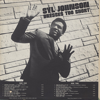 Syl Johnson / Dress Too Short back