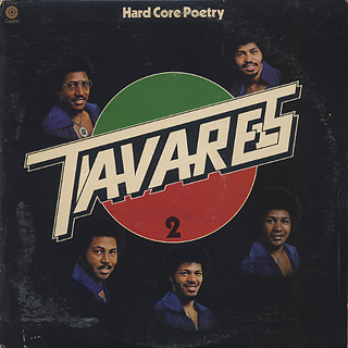 Tavares / Hard Core Poetry front