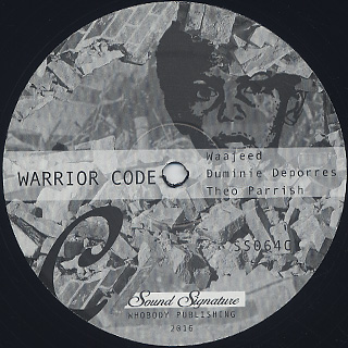 Theo Parrish, Duminie Deporres, Wajeed / Gentrified Love Part 2 back