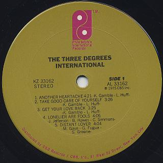 Three Degrees / International label