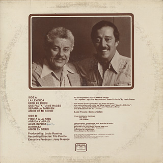 Tito Puente / The Legend back