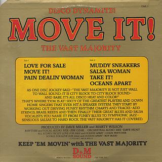 Vast Majority / Move It! back