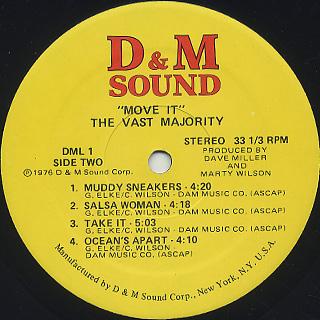 Vast Majority / Move It! label
