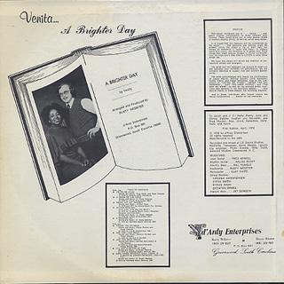 Venita / A Brighter Day back