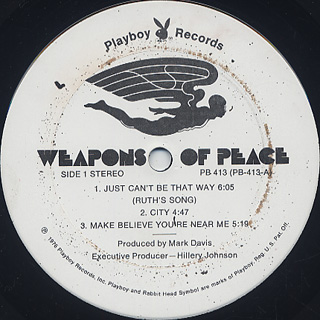 Weapons Of Peace / Weapons Of Peace label