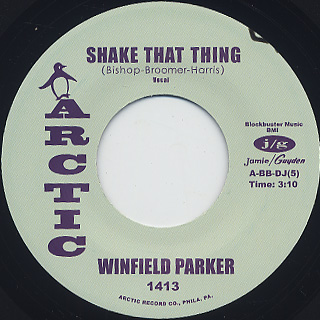 Winfield Parker / Shake That back