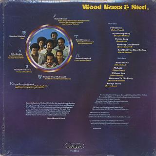 Wood, Brass & Steel / S.T. back