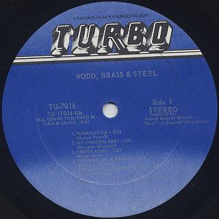 Wood, Brass & Steel / S.T. label