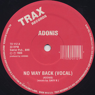 Adonis / No Way Back