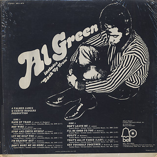 Al Green / S.T. back